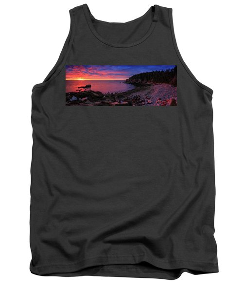 Tank Top featuring the photograph Otter Beach Maine Sunrise  by Emmanuel Panagiotakis