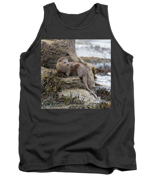 Otter Beside Loch Tank Top