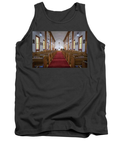 Our Lady Of Mount Carmel Tank Top by Andy Crawford