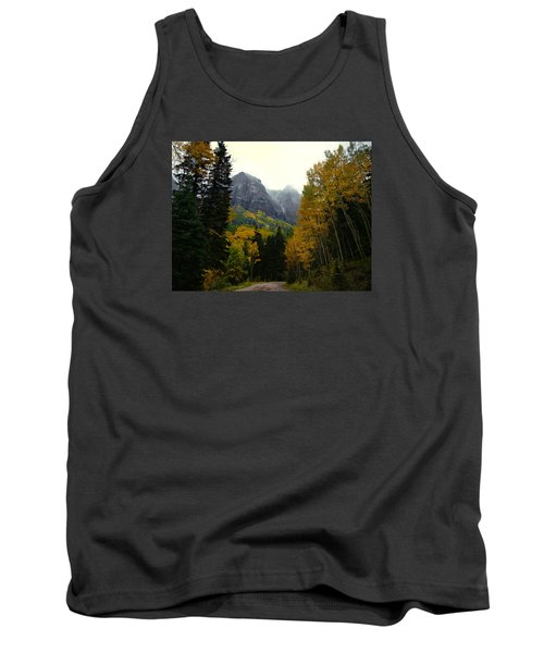 Tank Top featuring the photograph Ouray Side Trip by Laura Ragland