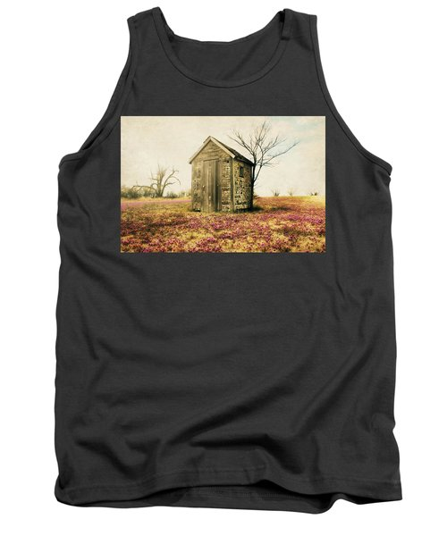 Tank Top featuring the photograph Outhouse by Julie Hamilton