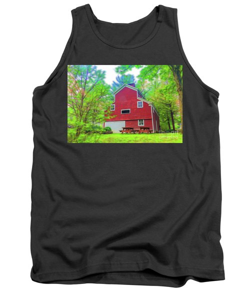Tank Top featuring the photograph Out In The Country by Jim Lepard