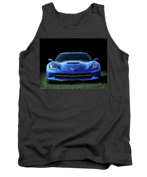 Out Of The Blue Tank Top by Douglas Pittman