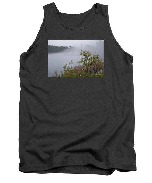 Tank Top featuring the photograph Out Of The Fog by Sandra Updyke