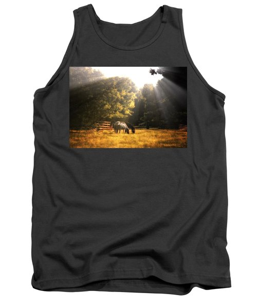 Tank Top featuring the photograph Out To Pasture by Mark Fuller