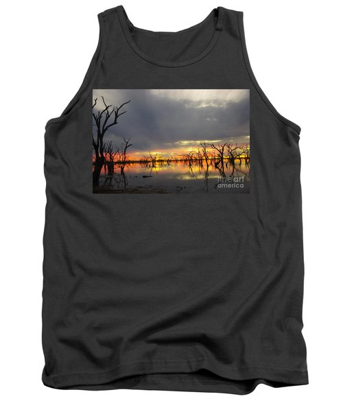 Outback Sunset Tank Top by Blair Stuart