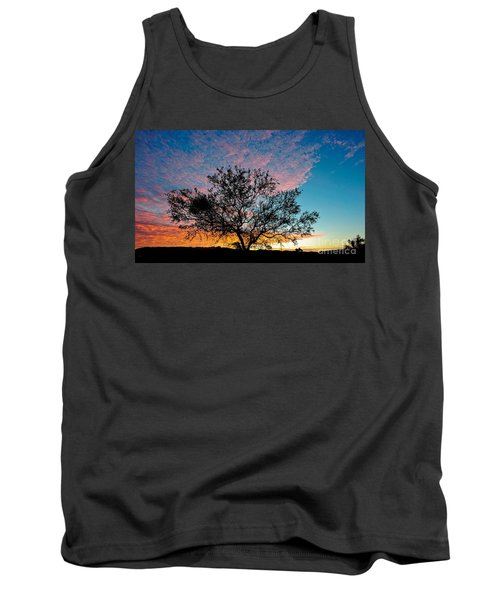Outback Sunset Pano Tank Top