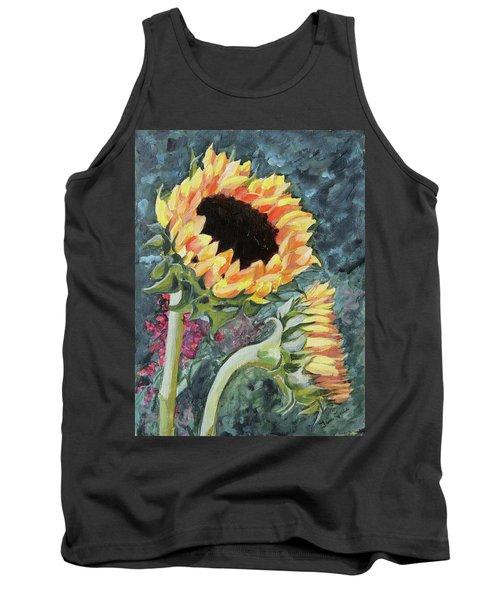 Outdoor Sunflowers Tank Top