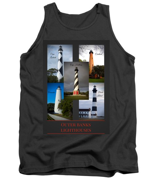 Outer Banks Lighthouses Tank Top