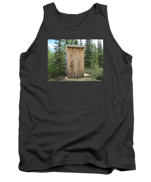 Outhouse  Tank Top by Lucinda VanVleck