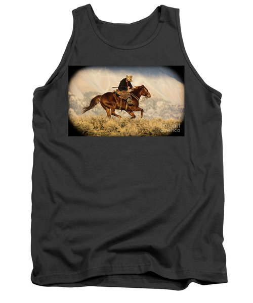 Outlaw Kelly Western Art By Kaylyn Franks Tank Top