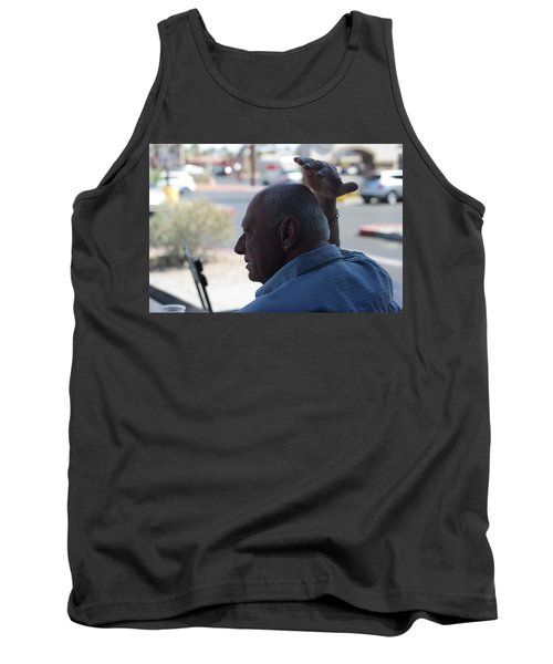 Outside The Cafe Tank Top