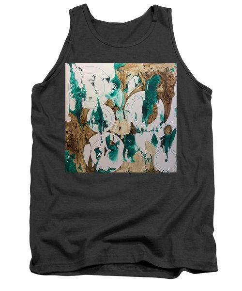 Over And Under Tank Top by Pat Purdy