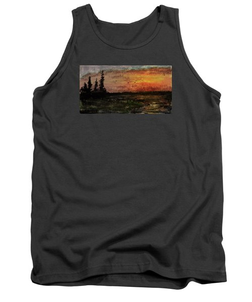Over Nowhere North Tank Top by R Kyllo