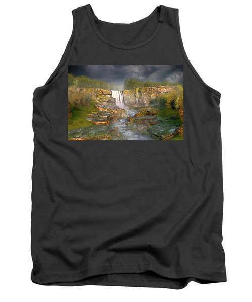 Over The Edge Tank Top