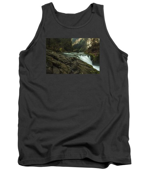Over The Edge Signed Tank Top