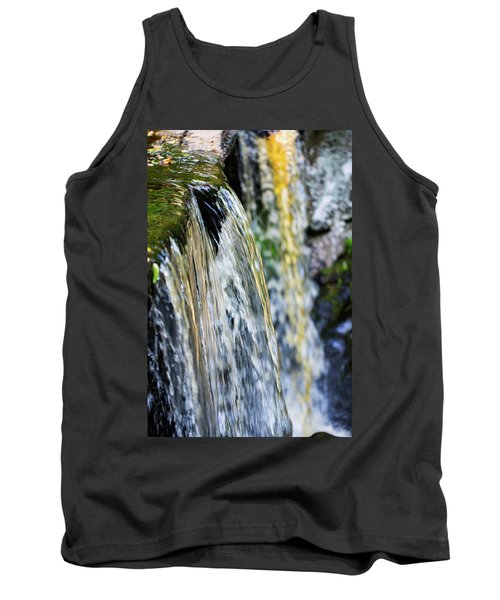 Over The Edge Visions Of Gold Tank Top
