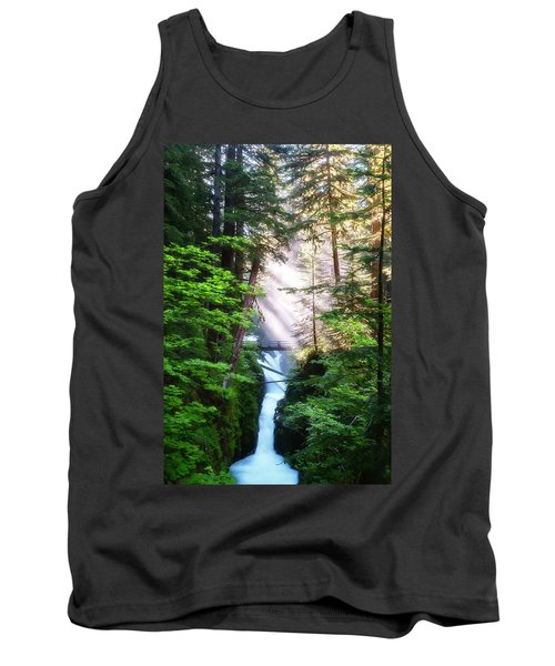 Over The River And Through The Woods Tank Top