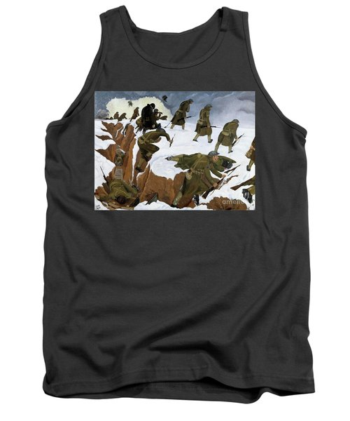 Over The Top. 1st Artists' Rifles At Marcoing, 30th December 1917 Tank Top