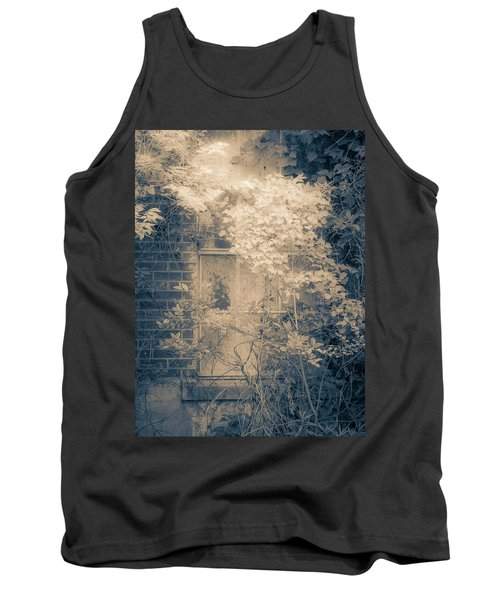 Overgrowth On Abandoned Pumping Station Tank Top