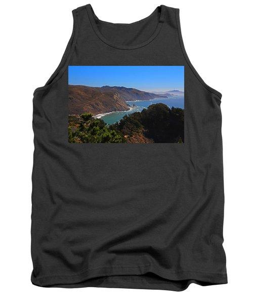 Overlooking Marin Headlands Tank Top