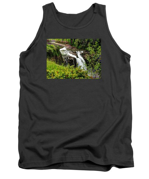Overlooking Snoqualmie Falls Tank Top by Chris Anderson