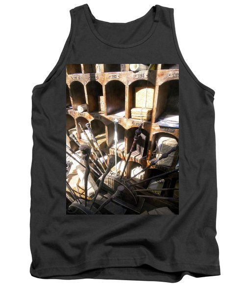 Tank Top featuring the photograph Owl Post Office Hogsmeade by Juergen Weiss