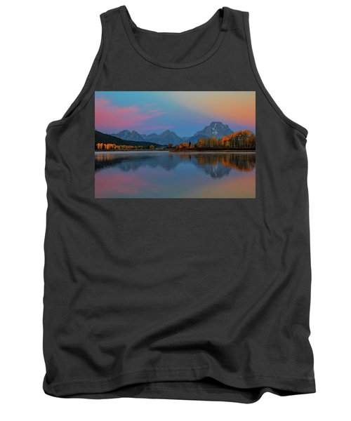 Oxbows Reflections Tank Top by Edgars Erglis