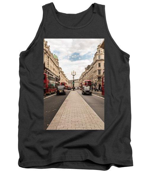 Oxford Street In London Tank Top