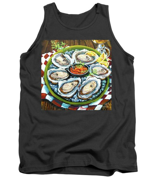Oysters On The Half Shell Tank Top