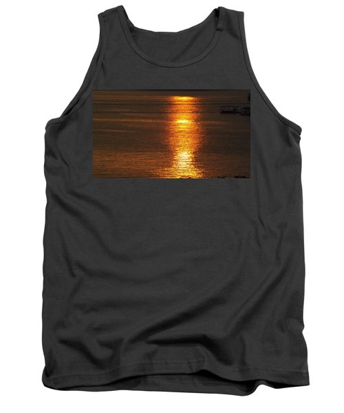 Ozark Lake Sunset Tank Top