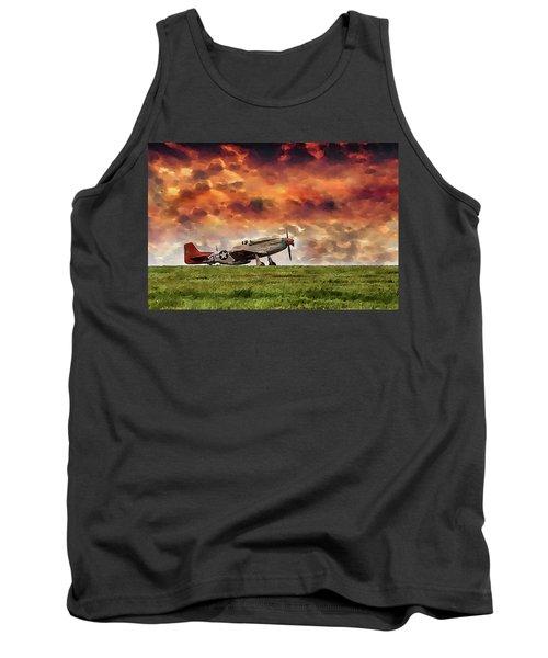 P51 Warbird Tank Top