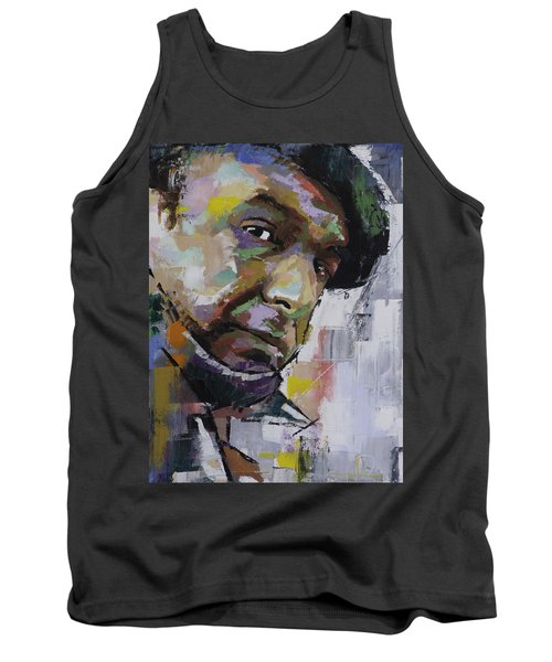Tank Top featuring the painting Pablo Neruda by Richard Day