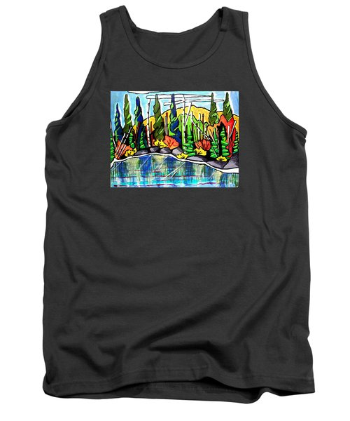 Pacific Coast Forest Tank Top