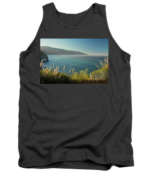 Tank Top featuring the photograph Pacific Ocean, Big Sur by Dana Sohr