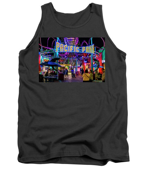 Pacific Park - On The Pier Tank Top