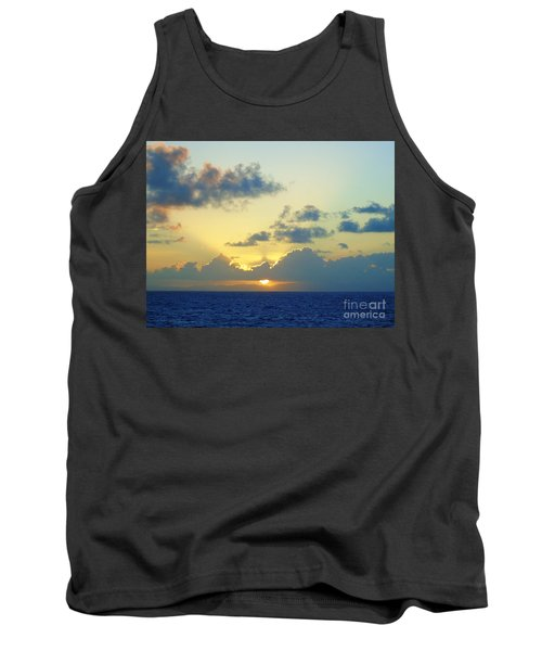 Pacific Sunrise, Japan Tank Top