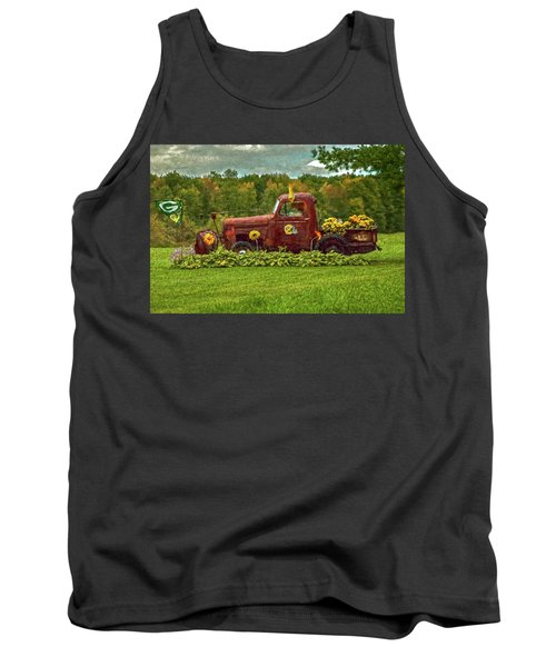 Packers Plow Tank Top by Trey Foerster