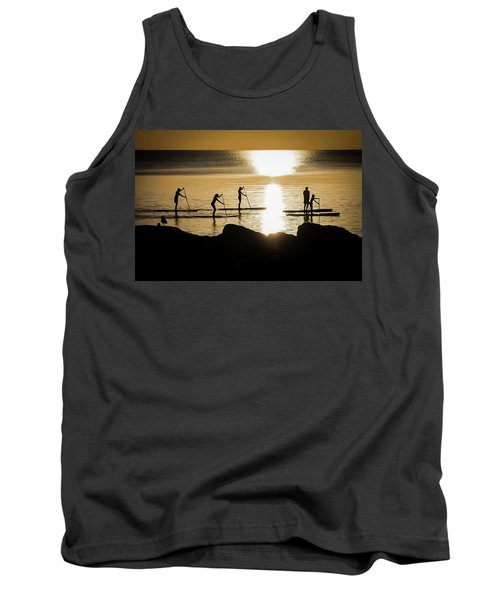Paddle Gold Tank Top