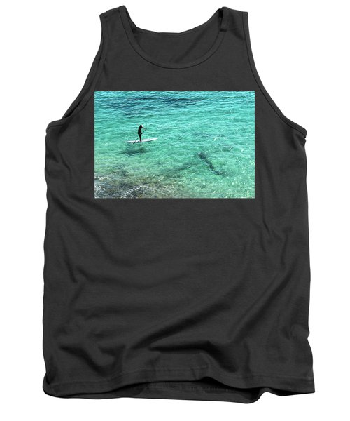 Paddle The Aqua Sea Tank Top