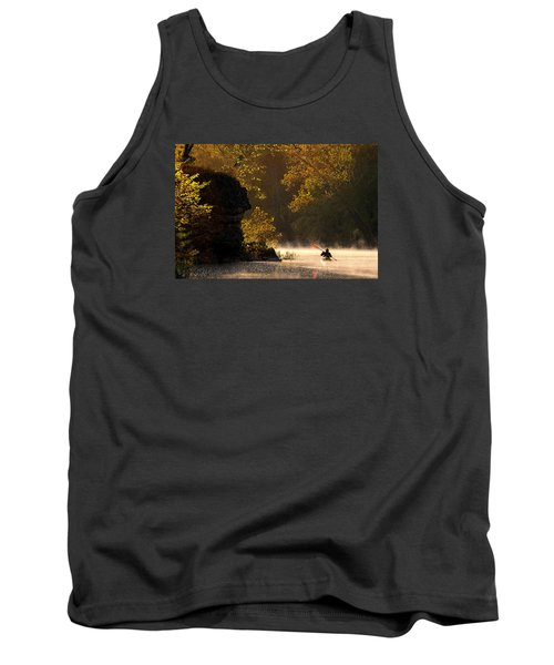 Paddling In Autumn Tank Top by Robert Charity