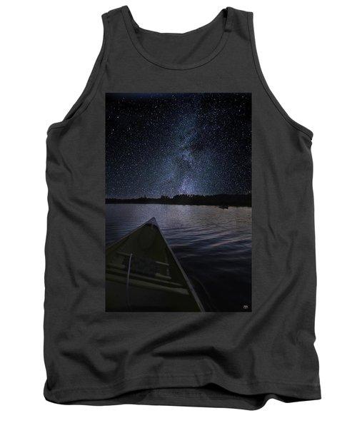 Paddling The Milky Way Tank Top