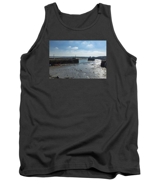 Padstow Harbour Tank Top by Brian Roscorla