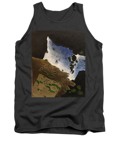 Tank Top featuring the mixed media Pages by Steve  Hester