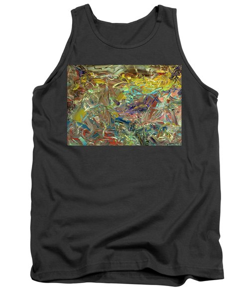 Paint Number46 Tank Top