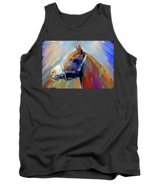 Painted Color Horse Tank Top