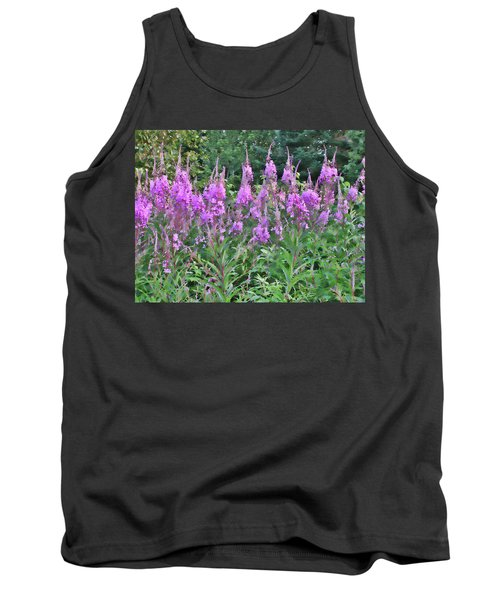 Painted Fireweed Tank Top