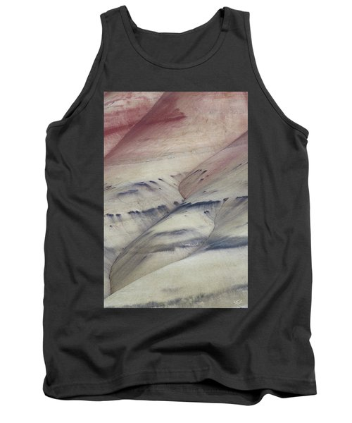 Painted Hills Textures 2 Tank Top by Leland D Howard