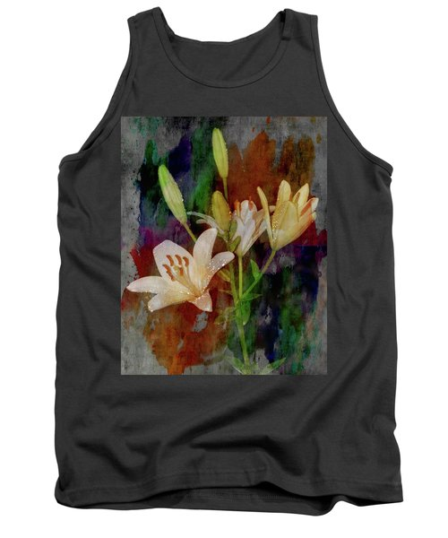 Painted Lilies Tank Top