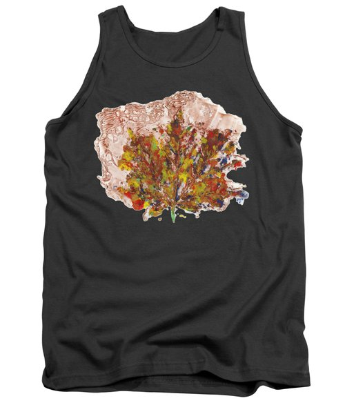 Tank Top featuring the painting Painted Nature 3 by Sami Tiainen